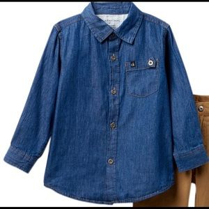 CALVIN KLEIN - Boys Denim Shirt